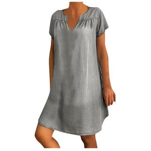 Desperate Kraft Baggy Tunic Denim Dress