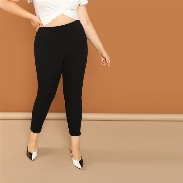 Plus Size Skinny Trousers