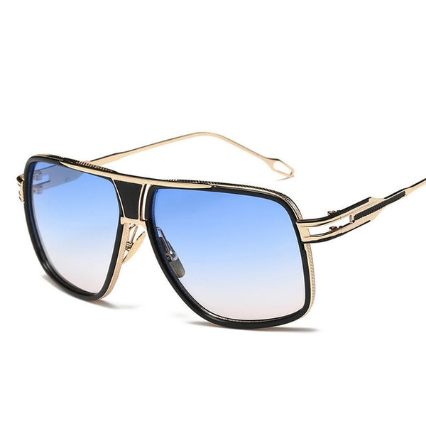 Bold sensation unisex square sunglasses
