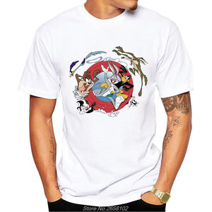 Vintage Cartoon Characters Tee