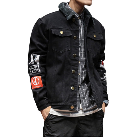 High end jeans jacket