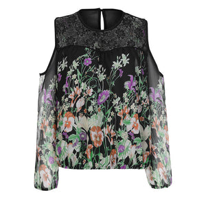 Desperate kraft floral blouse