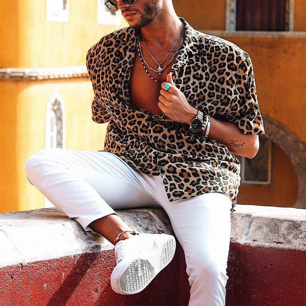 New Haven Leopard Printed Shirt