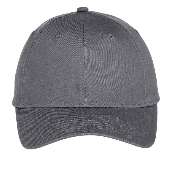 C914 Port & Company® Six-Panel Unstructured Twill Cap