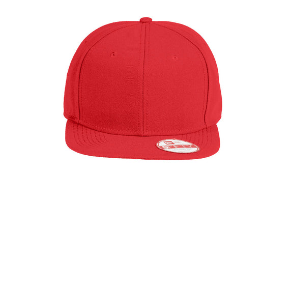 NE402 New Era® Original Fit Flat Bill Snapback Cap