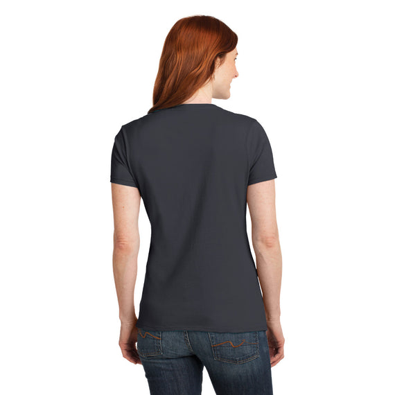 S04V Hanes® Ladies Nano-T® Cotton V-Neck T-Shirt
