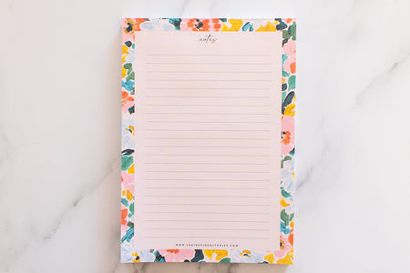 BLOOM - A5 Notepad
