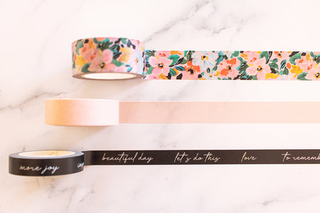 BLOOM - Washi Tape Set