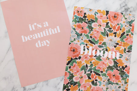 BLOOM - 2xA3 Print Set - Blush