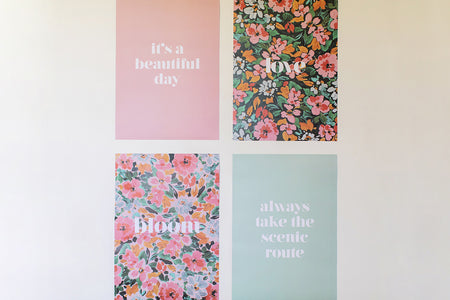 BLOOM - 4x Print Set (A3)