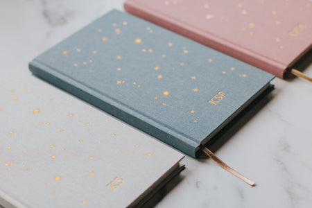 BUNDLE - 3x Starry Lined Notebook - Personalised