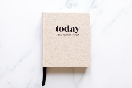 Today - 3-Year Reflection Journal