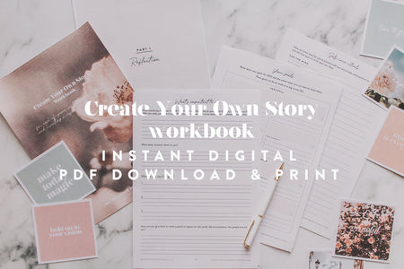 Workbook - Create Your Own Story - Digital Download