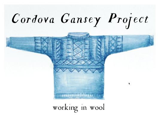 Cordova Gansey Project:  The Long Story #9   Down River