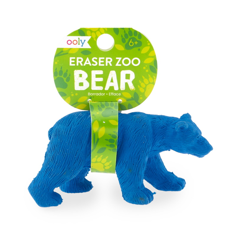 Eraser Zoo Bear