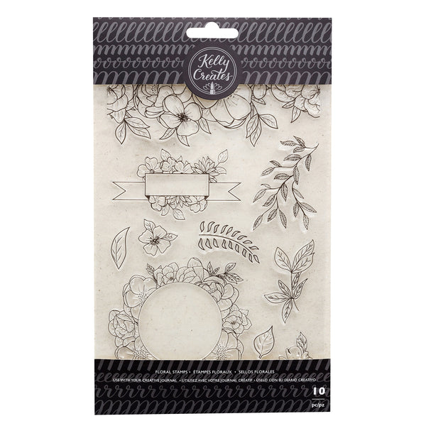 Kelly Creates Stamp Set, Florals