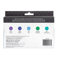 Kelly Creates Watercolor Ink Set 2 | Violet, Cobalt, Blue, Emerald and Teal