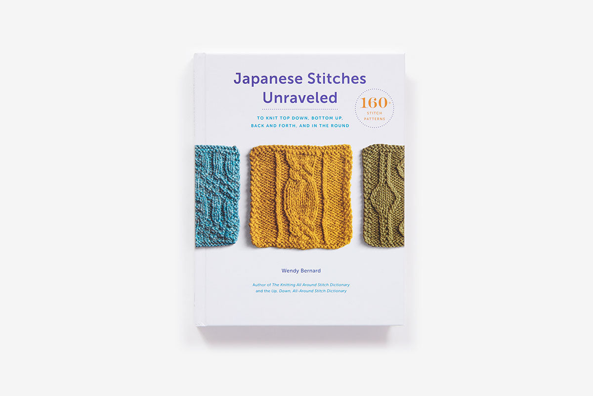 Japanese Stitched Unraveled By Wendy Bernard