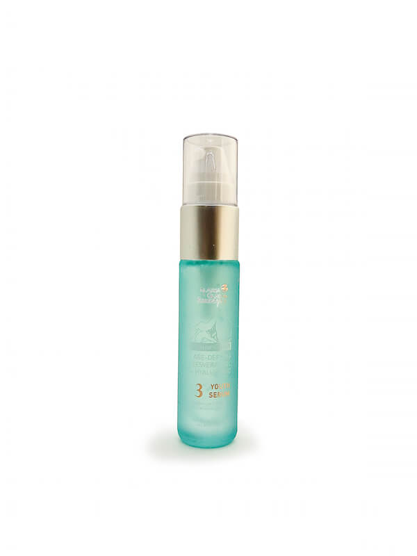 Alpenglow Resveratrol + Hyaluronic Age-Defying Youth Serum