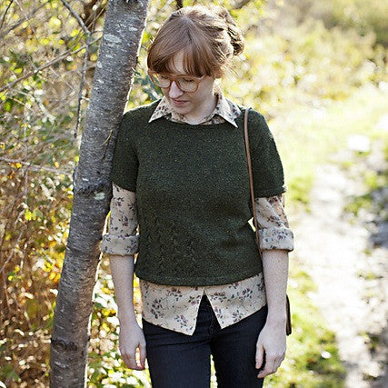 Brooklyn Tweed Edie Knitted Tee