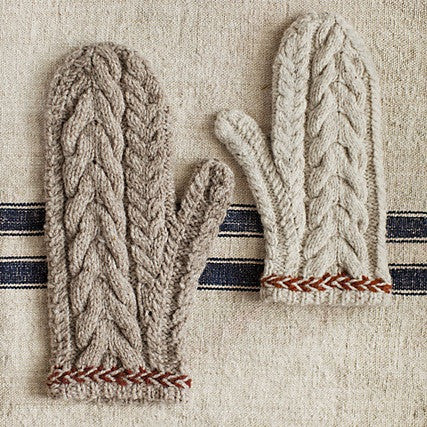 Brooklyn Tweed Flint Mittens