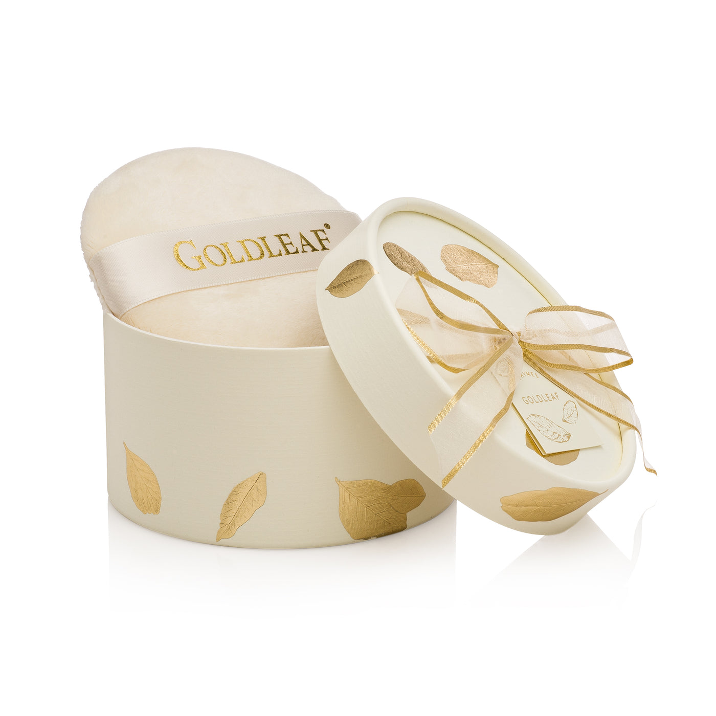 Goldleaf Perfumed Dusting Powder with Puff