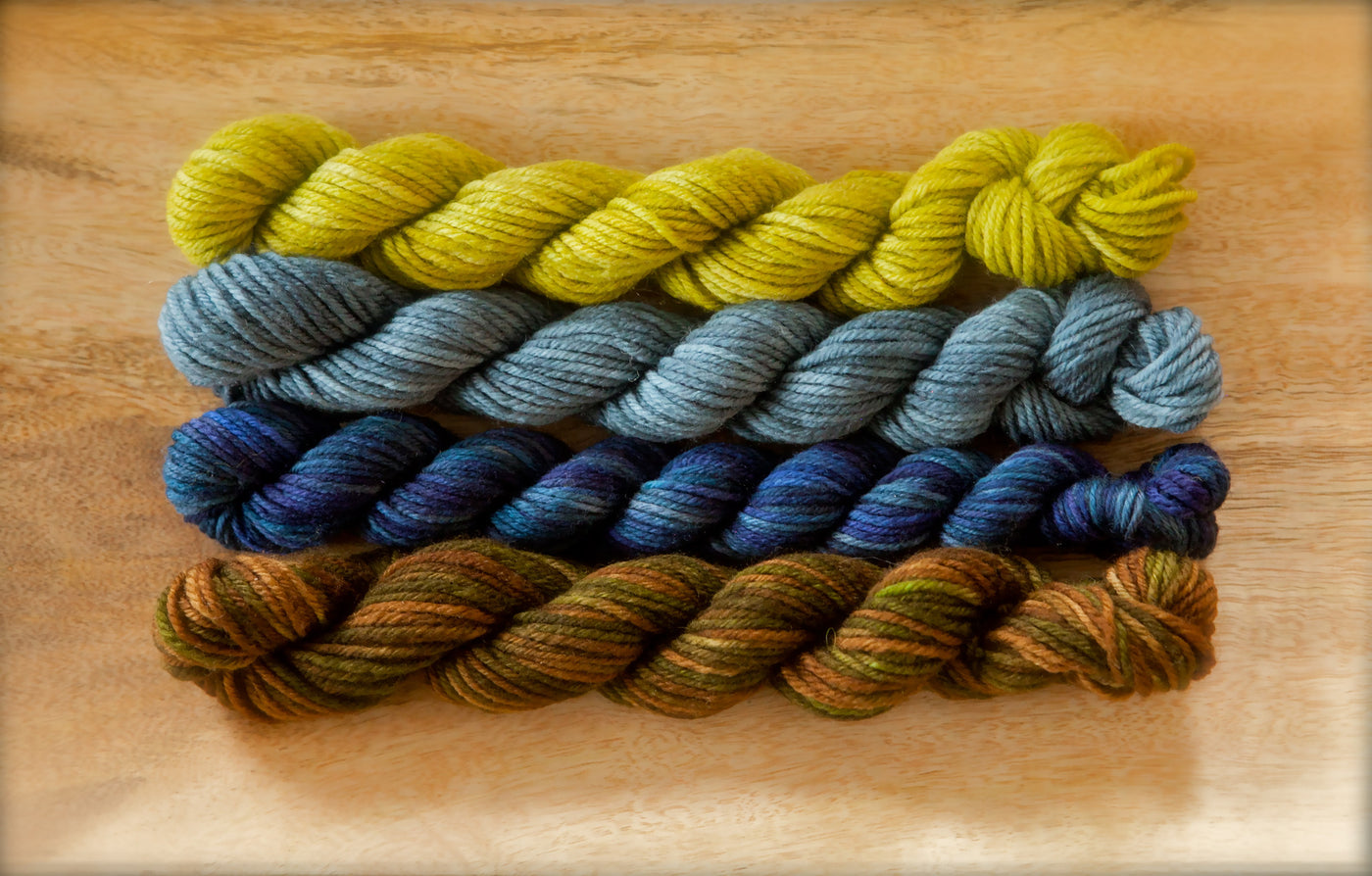 Springvale Supermerino Blueberries Quartet