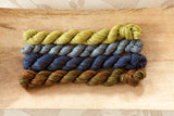 Glenhaven Worsted Blueberries Quartet