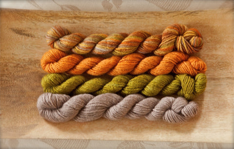 Carys BFL Mushrooms in the Moss Quartet