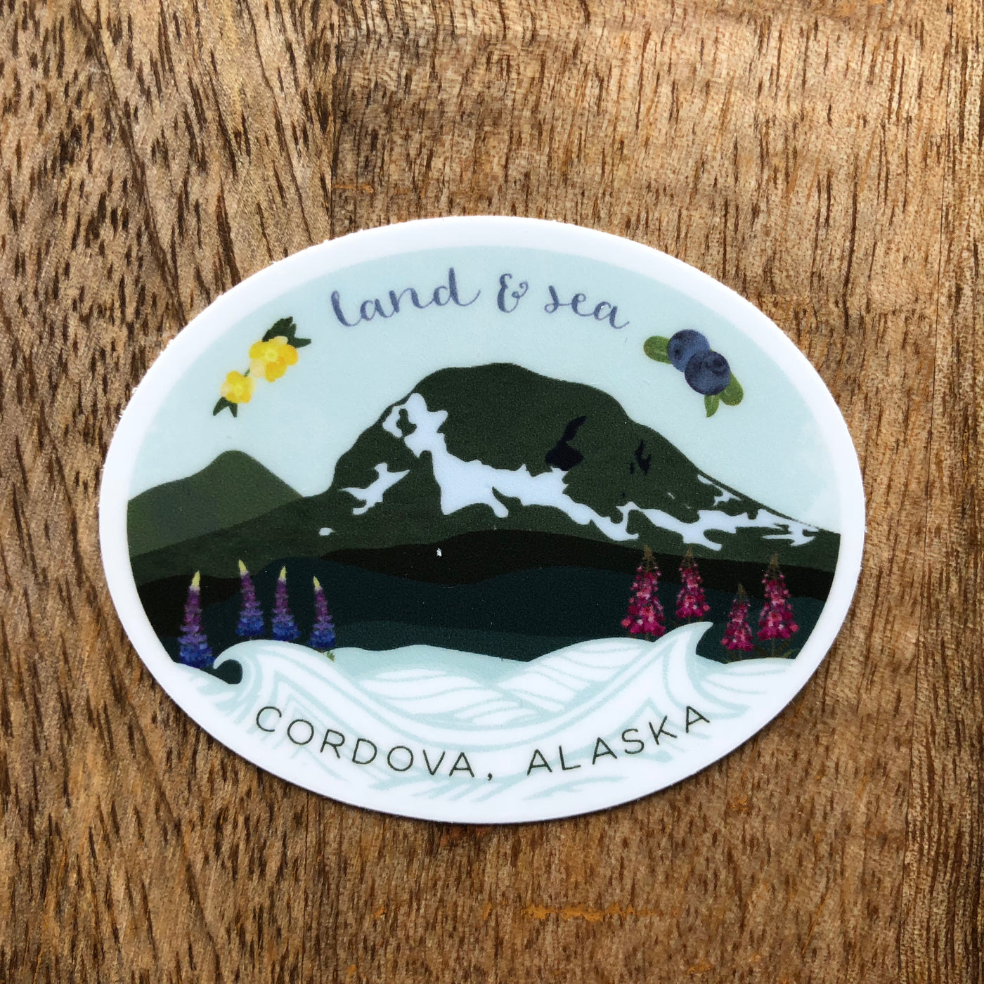 Land & Sea Sticker
