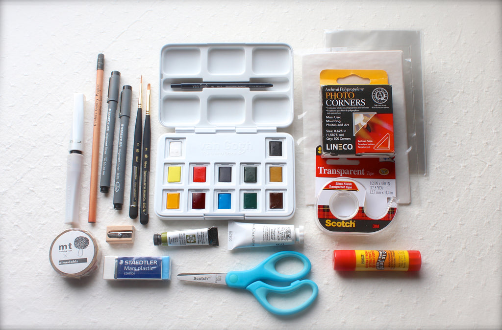 Net Loft Close at Hand Journaling/Traveling Art Kit - Complete