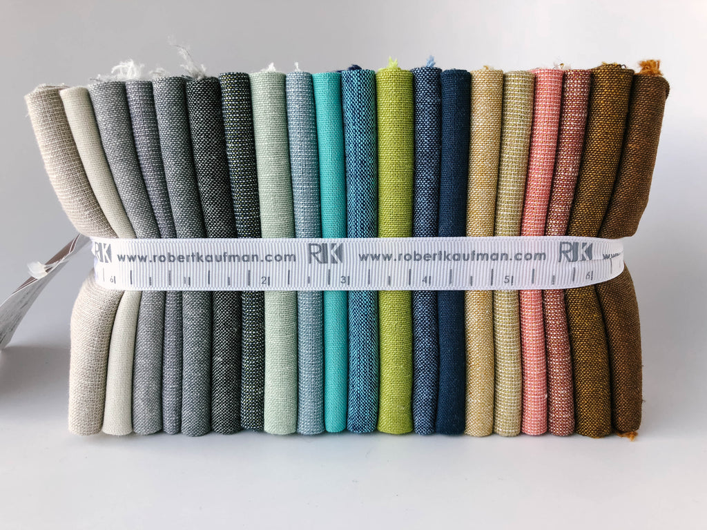 Shimmer on Essex Coordinates - Essex, Yarn Dyes & Metallics