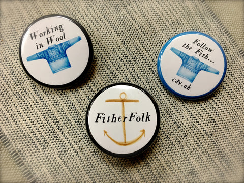 FisherFolk Pins