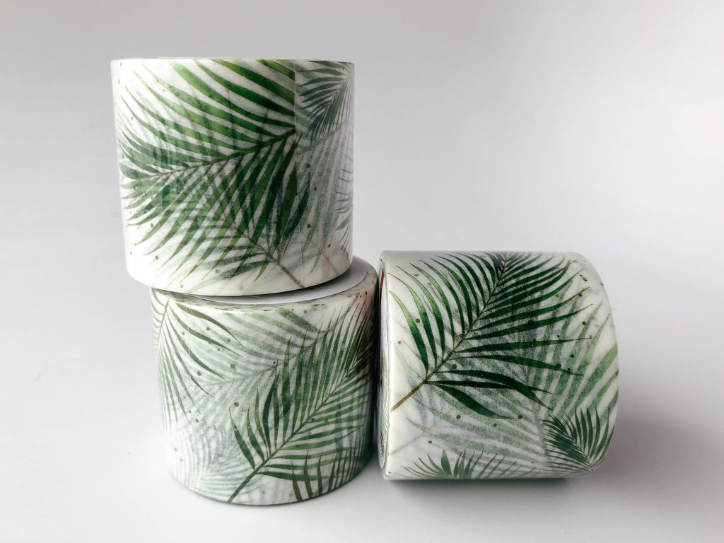 Washi Tape Palm Leaves