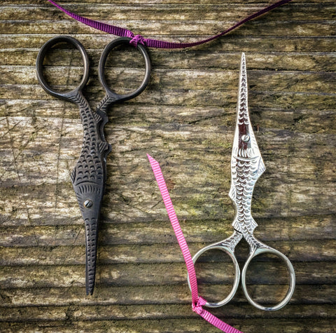 Fish Needlework Scissors
