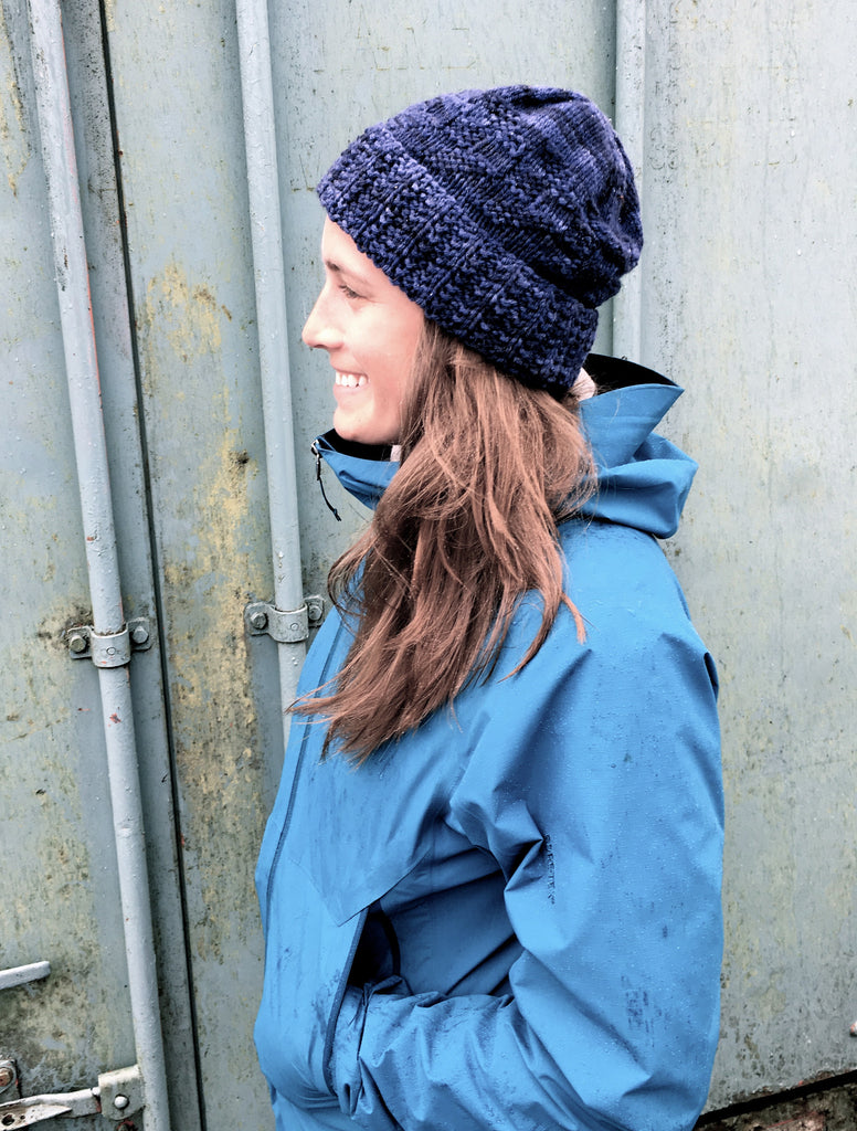 Bowline: A Seafaring Cap from Tin Can Knits