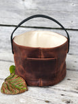 Fisherfolk Bucket Cognac Leather
