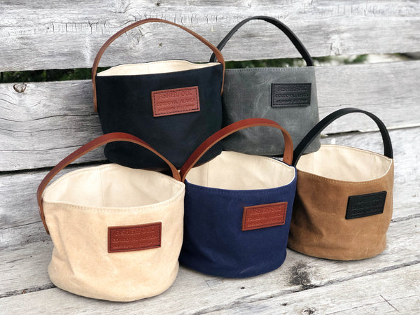 Fisherfolk Bucket Waxed Canvas