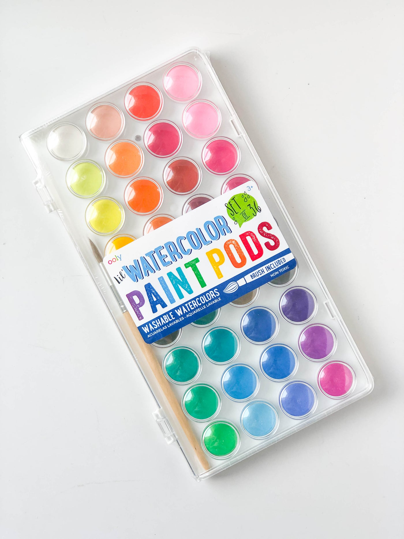 Lil' Watercolor Paint Pods