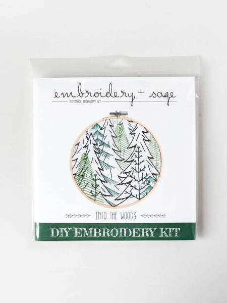 Into the Woods Embroidery Kit
