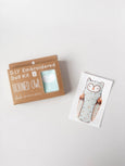 D.I.Y Embroidered Doll Kit | Horned Owl