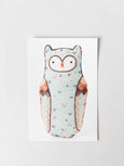 D.I.Y Embroidered Doll Starter Kit | Horned Owl
