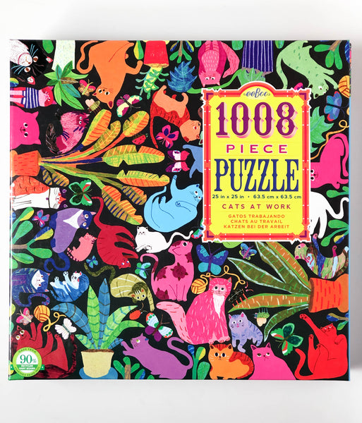 Cats at Work | 1008 Piece Puzzle