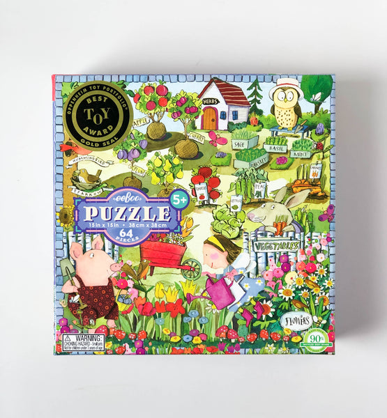 Growing a Garden | 64 Piece Puzzle