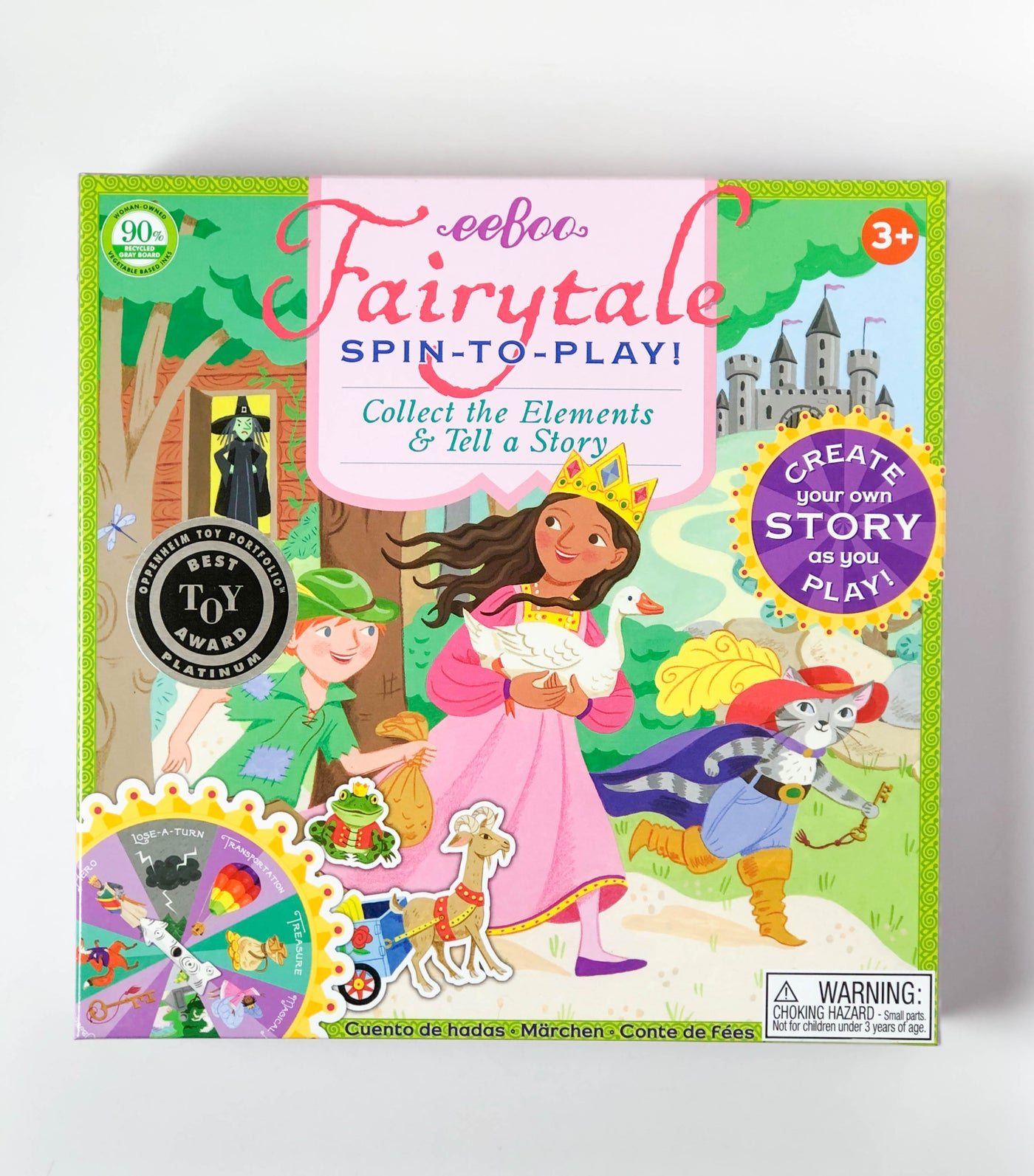 Spin to Play! Fairytale