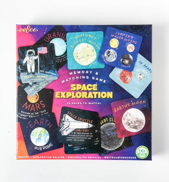 Space Exploration | Memory & Matching Game