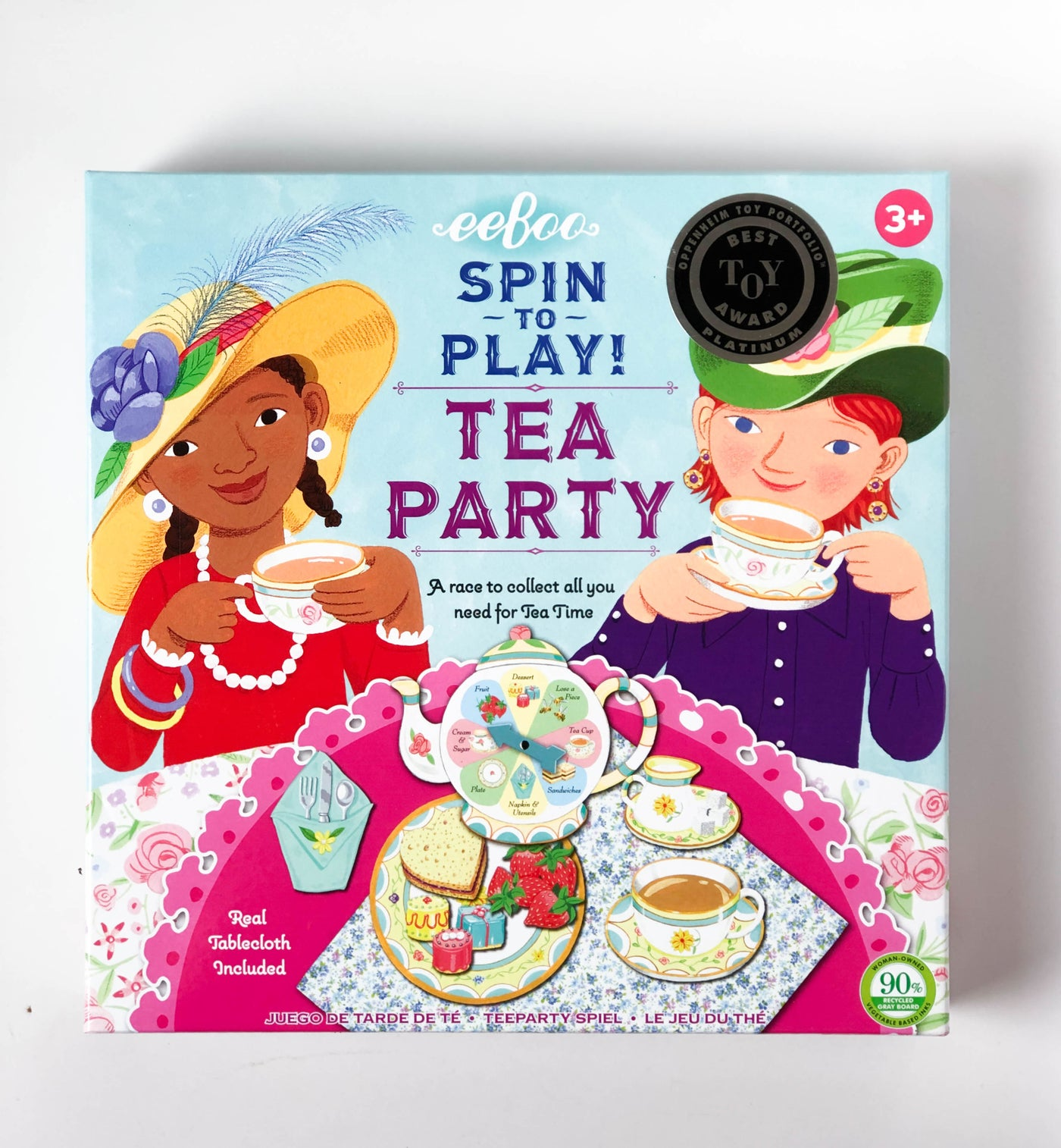 Spin to Play! Tea Party