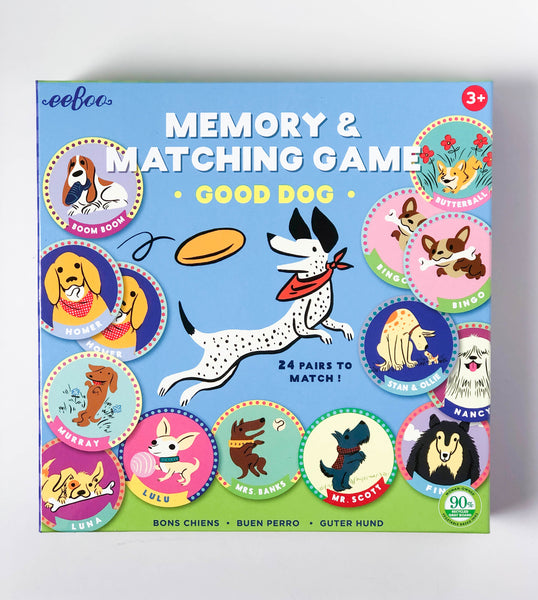 Good Dog | Memory & Matching Game