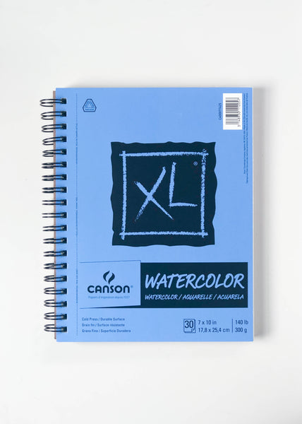 Canson XL Watercolor Paper 7x10in