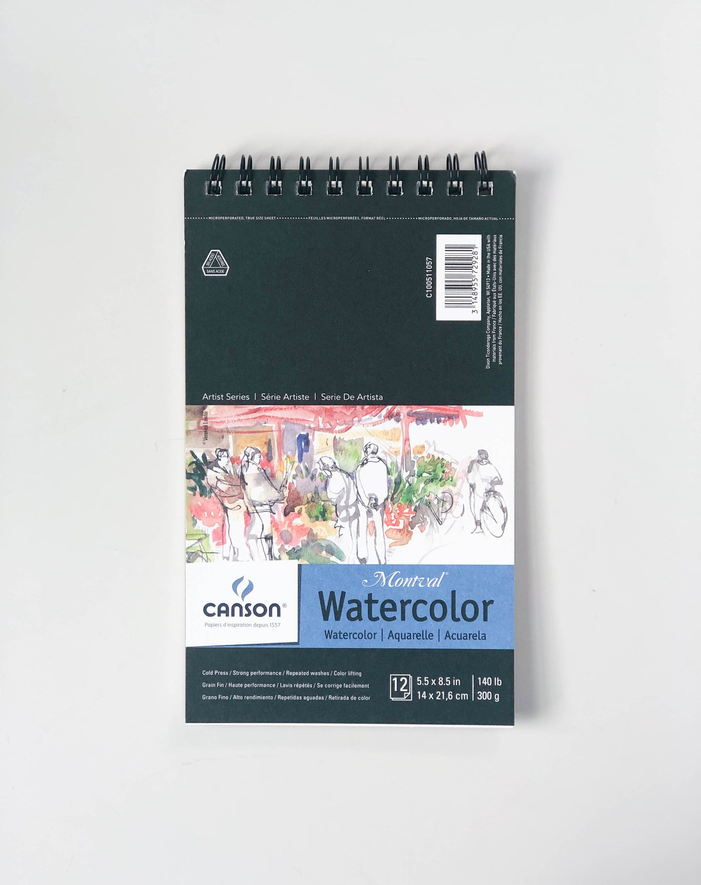 Canson Montreal Watercolor Paper | Cold Press, 5.5x8.5
